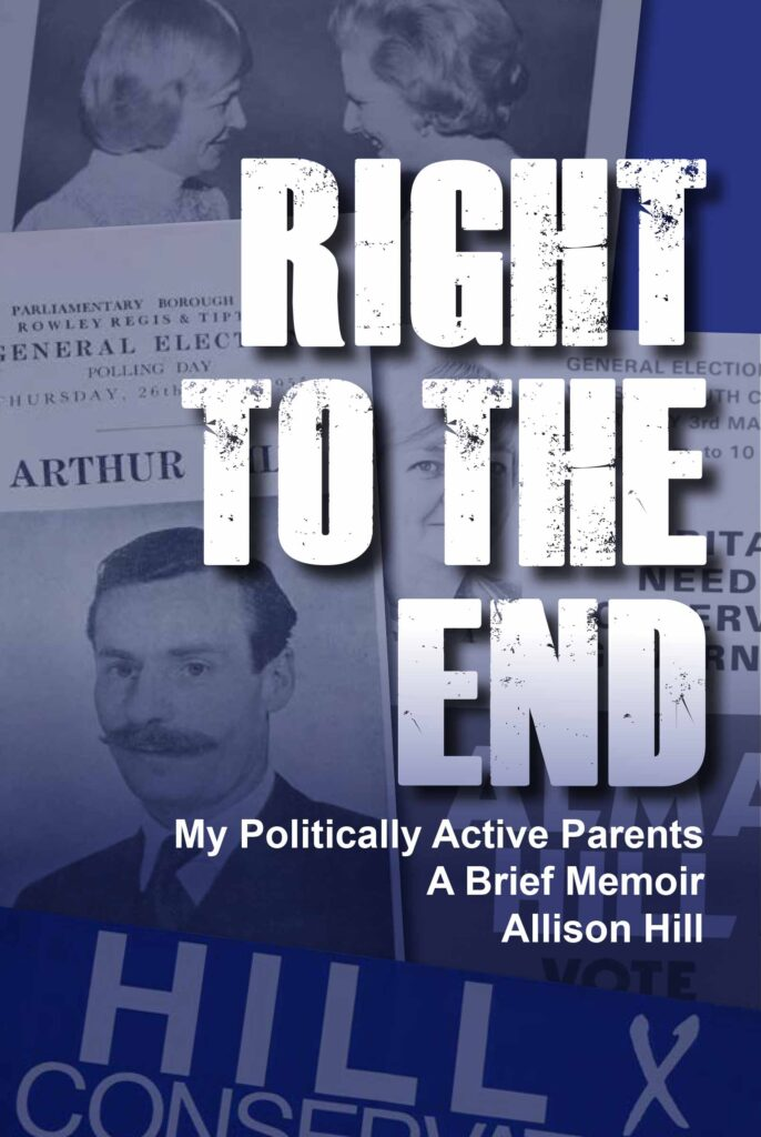 Right to the End Book Cover